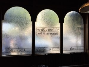 custom frosted window privacy film