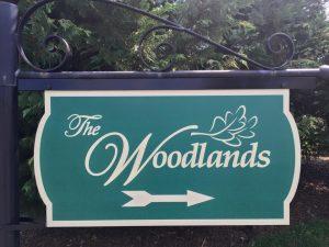 custom carved wood sign
